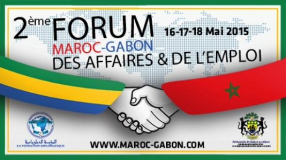 d marrage ce dimanche 17 mai 2015 de la 2 me edition du forum maroc gabon des affaires et de. Black Bedroom Furniture Sets. Home Design Ideas