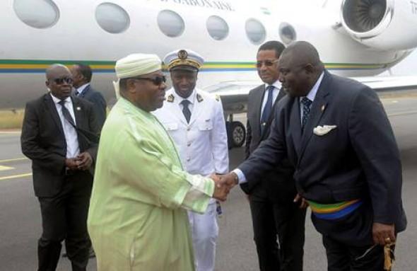 Le chef de l 39 etat gabonais sur les chantiers de port gentil ambassade du gabon au maroc - Consulat de france port gentil ...