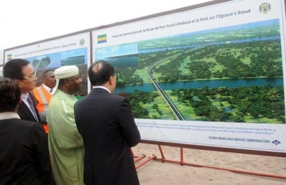 Les travaux de la route port gentil ombou en pleine progression ambassade du gabon au maroc - Consulat de france port gentil ...
